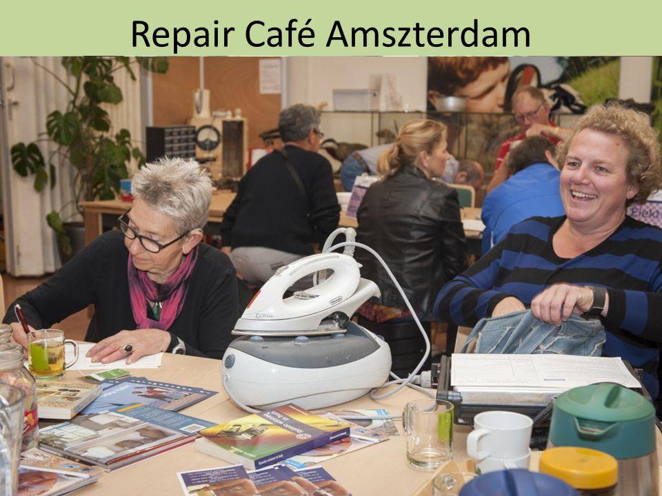 Repair Café Amszterdam A kezdeményezés lényege, hogy bárki, akinek javítanivaló készüléke, ruhája, használati tárgya, egyéb más ingósága van, ingyen e