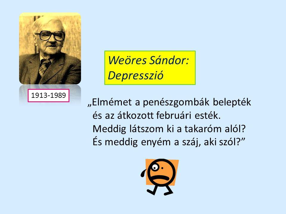 A depresszió ókori leírásai Hippokratész : melankólikus temperamentum Aretaios: szomorúság, izgatottság, álmatlanság, fogyás, halál utáni vágy Plutarkhosz: A depressziós ember olyannak tartja magát, akit az istenek gyűlölnek és haragjukkal üldöznek.
