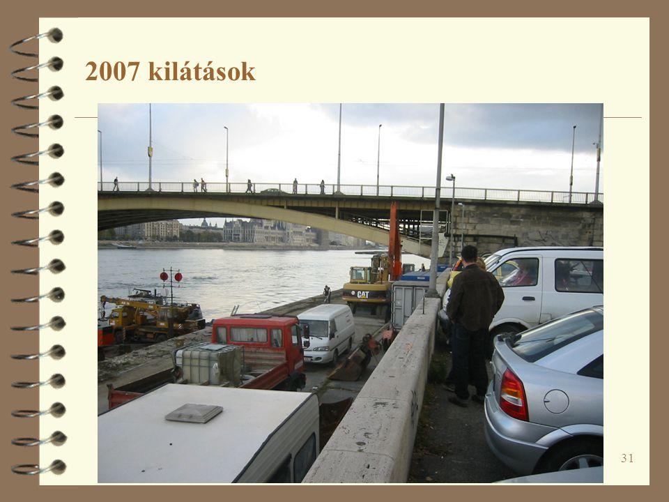 31 2007 kilátások