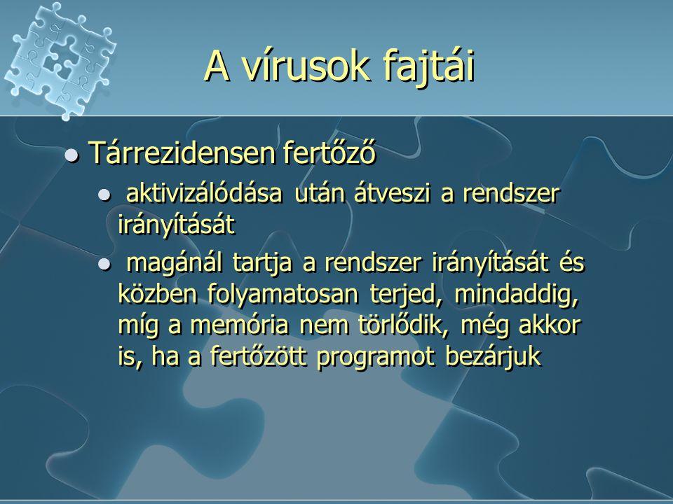 Vírusfertőzési ciklus 3. Helyreállítás