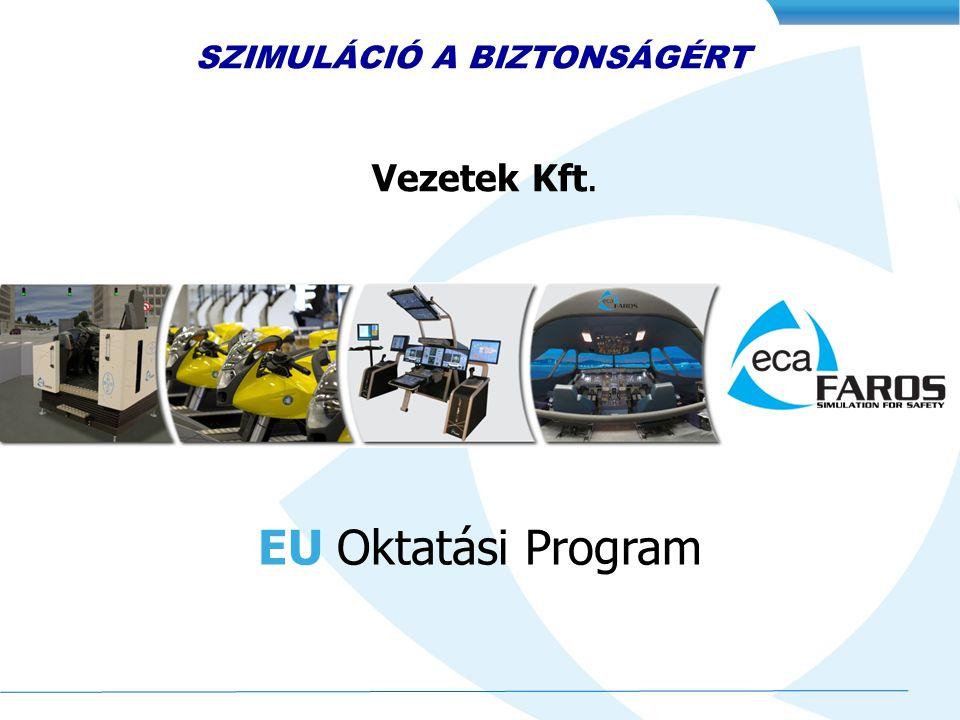 Vezetek Kft. EU Oktatási Program SZIMULÁCIÓ A BIZTONSÁGÉRT