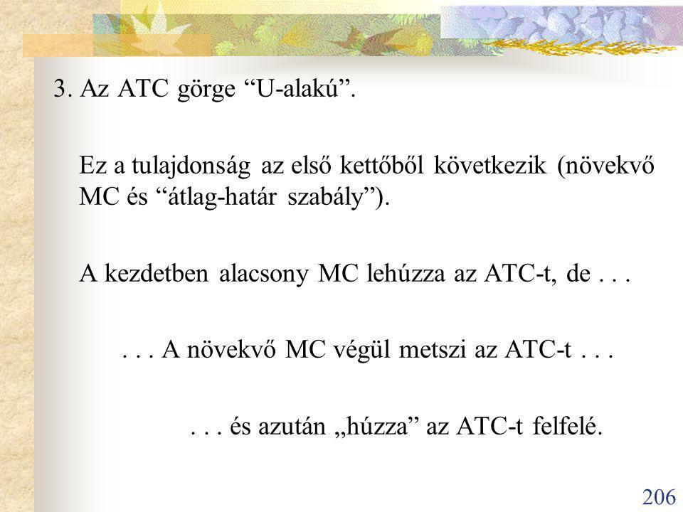 206 3.Az ATC görge U-alakú .