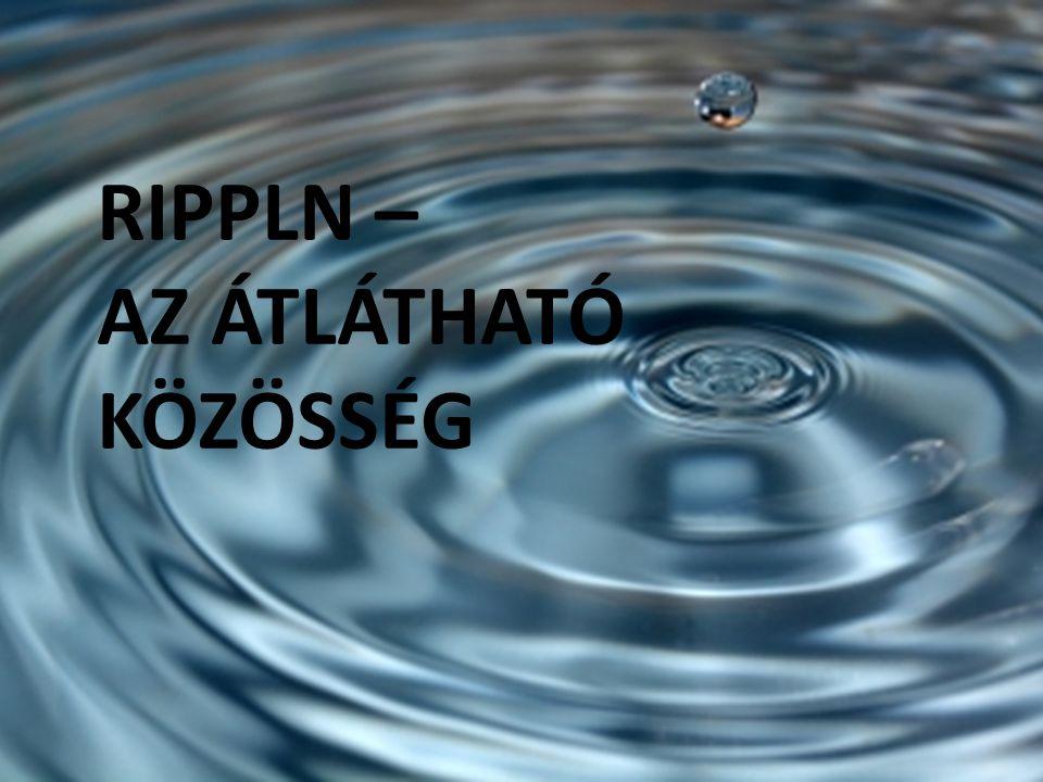 RIPPLN – AZ ÁTLÁTHATÓ KÖZÖSSÉG