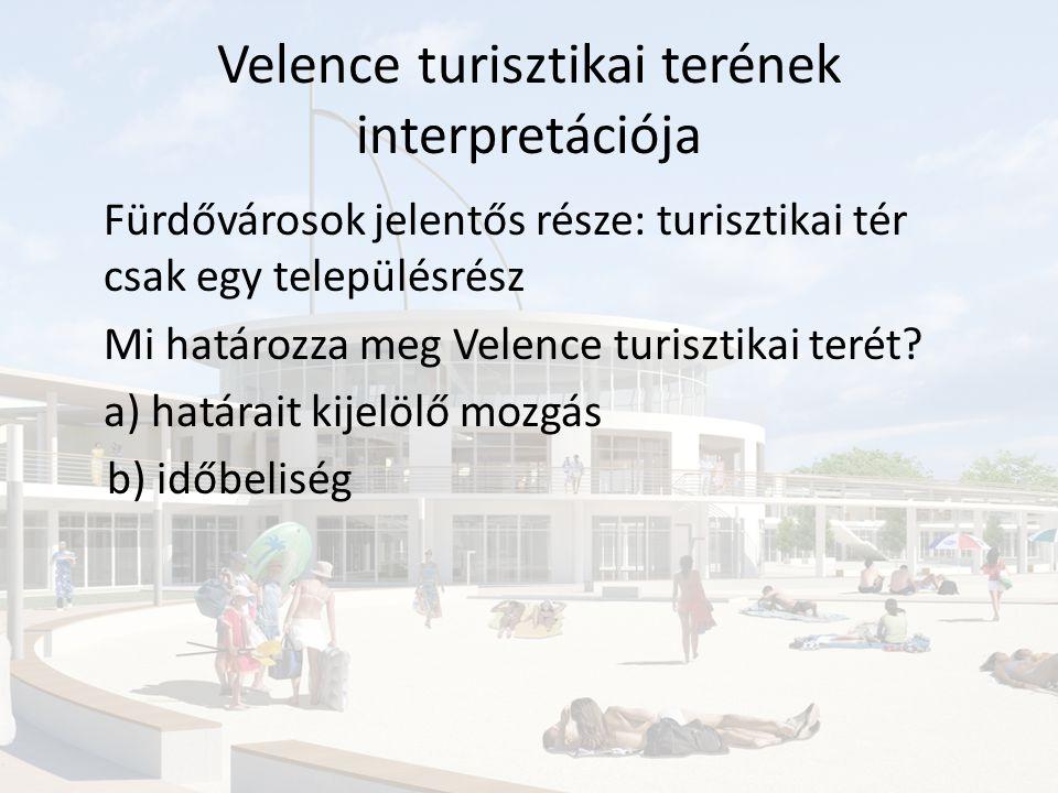 Velence turisztikai terének kialakulása és változásai 1.XX.