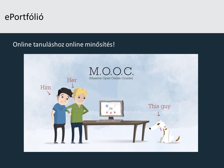 Online tanuláshoz online minősítés!