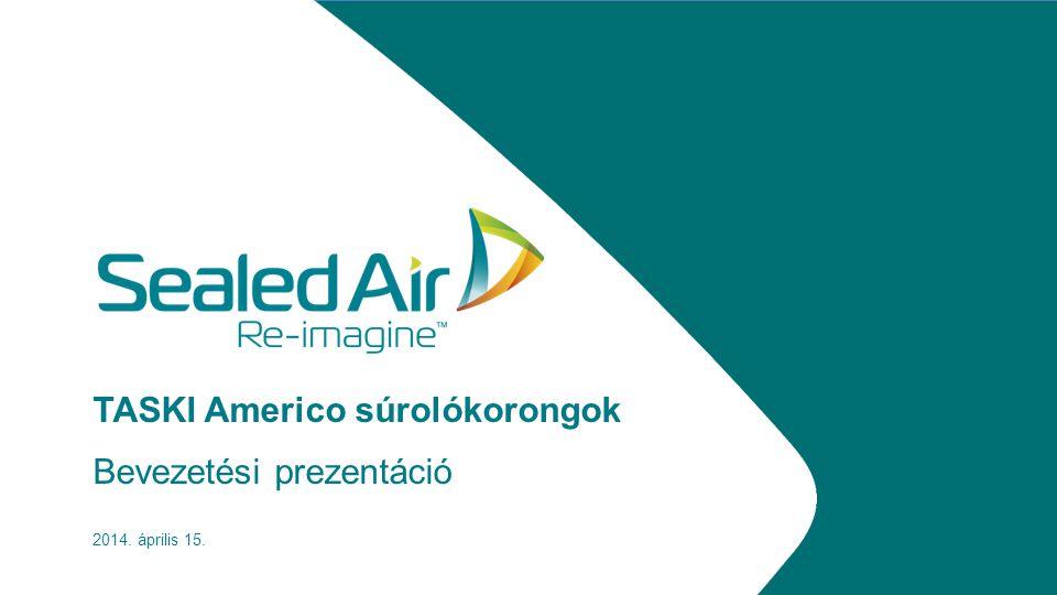 TASKI Americo súrolókorongok Bevezetési prezentáció 2014. április 15.