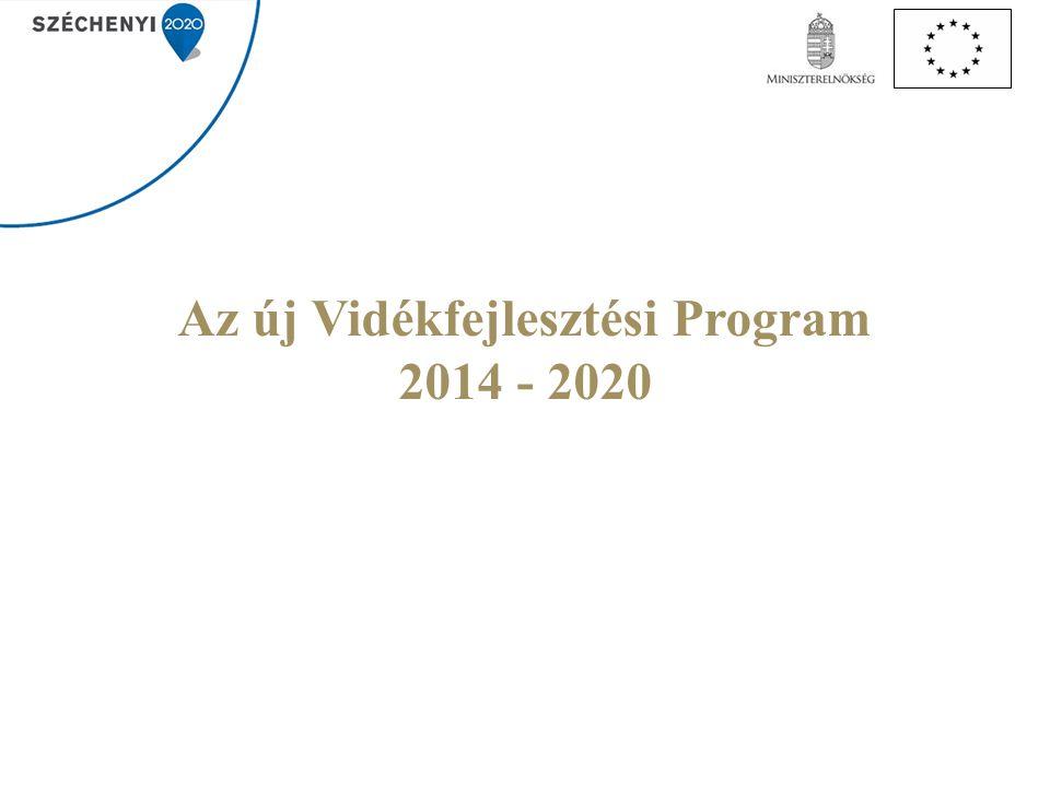 Az új Vidékfejlesztési Program 2014 - 2020