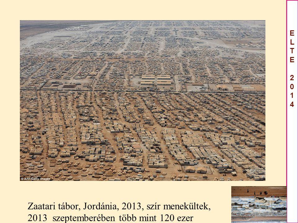 ELTE2014ELTE2014 Zaatari tábor, Jordánia, 2013, szír menekültek, 2013 szeptemberében több mint 120 ezer