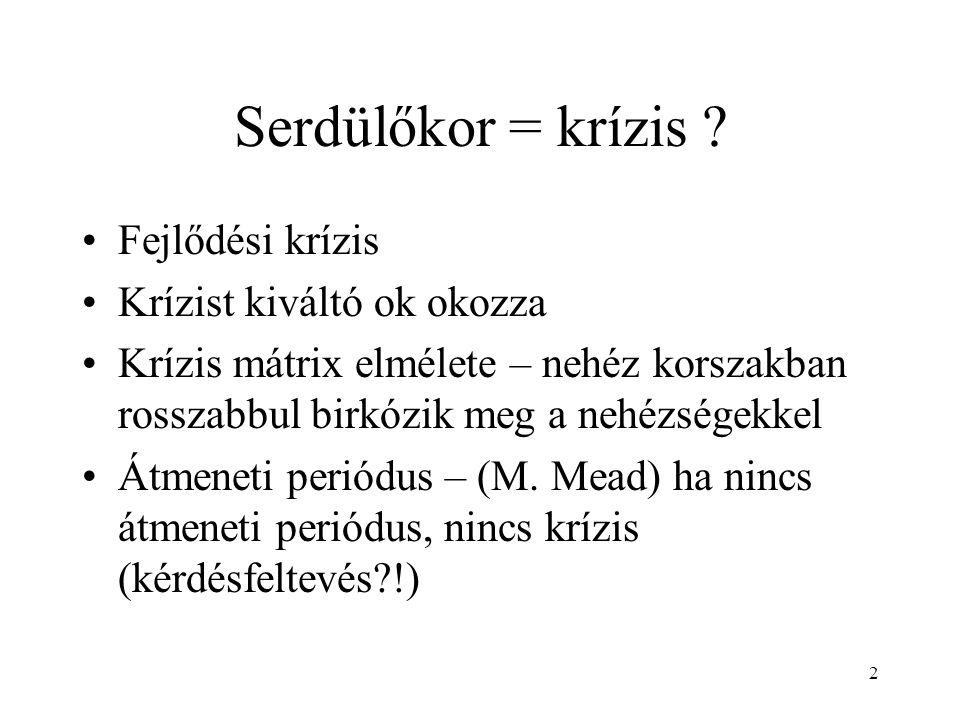 23 Családi struktúra Alrendszerek: Házastársi – pl.