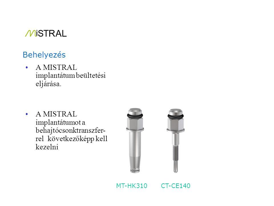 A COMBO rendszer használható implantátum behajtócsonkként, műanyag lenyomatvételi sapkával zárt kanalas lenyomatvételhez, és úgy is mint ideiglenes vagy állandó felépítmény.