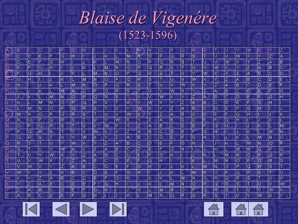 Blaise de Vigenére (1523-1596)