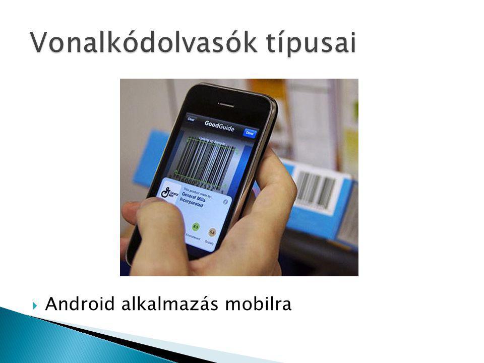  Android alkalmazás mobilra