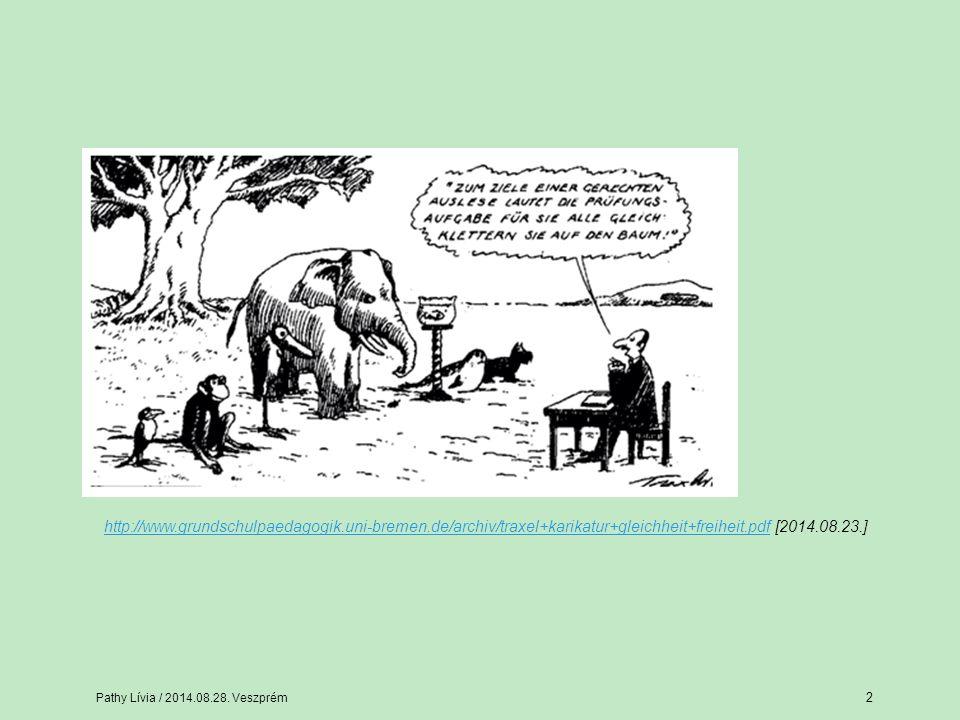 A differenciáláshoz felhasználható módszerek Pathy Lívia / 2014.08.28.