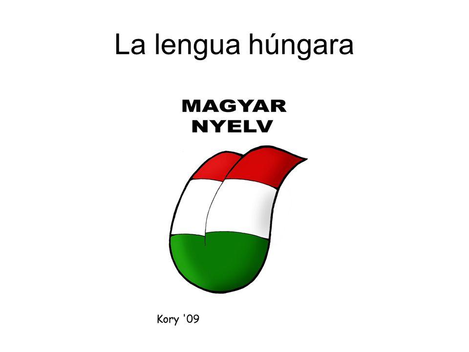 La lengua húngara