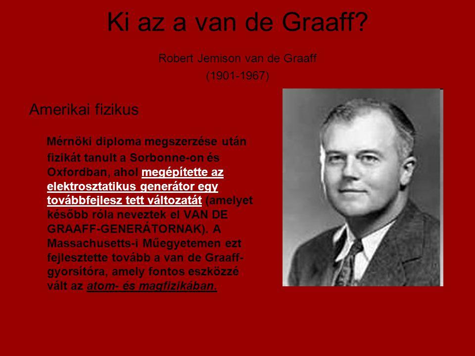 Ki az a van de Graaff.
