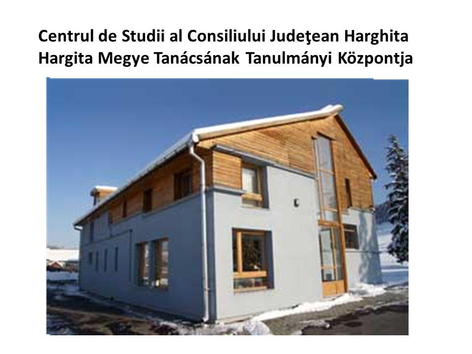 Centrul de Studii al Consiliului Judeţean Harghita Hargita Megye Tanácsának Tanulmányi Központja