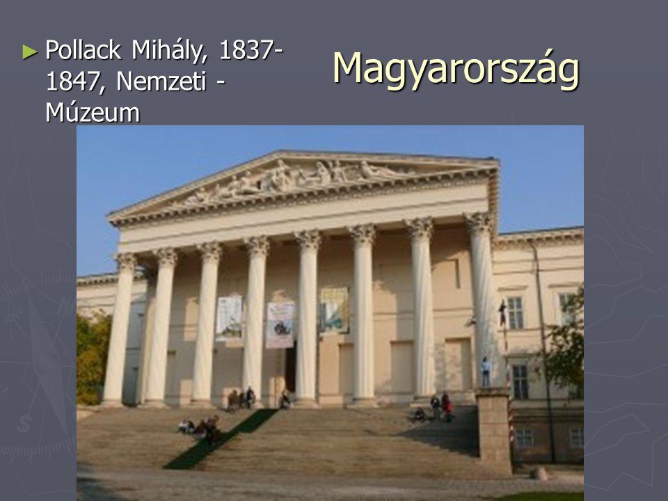Magyarország ► Pollack Mihály, 1837- 1847, Nemzeti - Múzeum