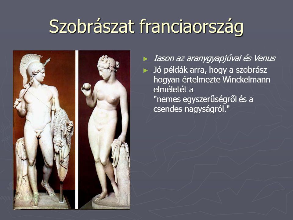 Szobrászat franciaország ► ► Iason az aranygyapjúval és Venus ► ► Jó példák arra, hogy a szobrász hogyan értelmezte Winckelmann elméletét a
