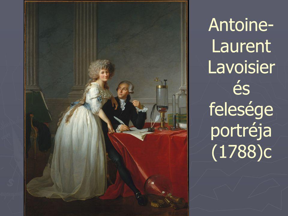 Antoine- Laurent Lavoisier és felesége portréja (1788)c