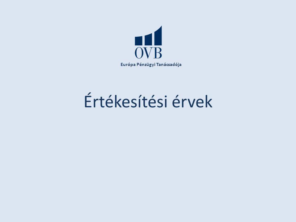 Európa Pénzügyi Tanácsadója Értékesítési érvek