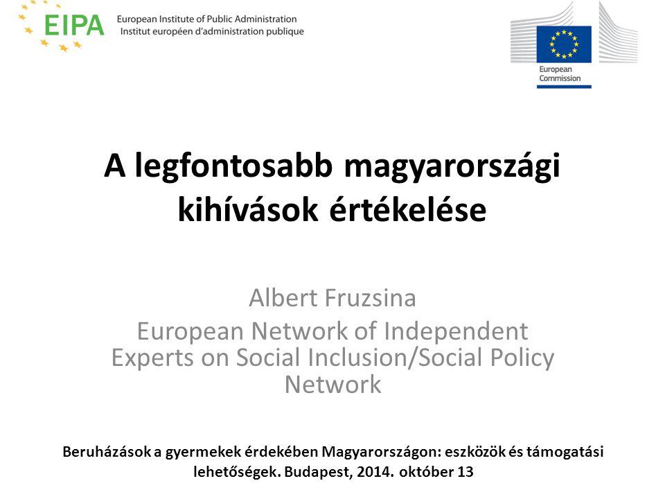 A 2014-20-ig terjedő időszakban az EU forrásokat arra kellene felhasználni, hogy a marginalizált közösségek egyenlő hozzáférést kapjanak a minőségi közszolgáltatásokhoz főként az oktatás, az egészségügy és a szociális szolgáltatások területén.