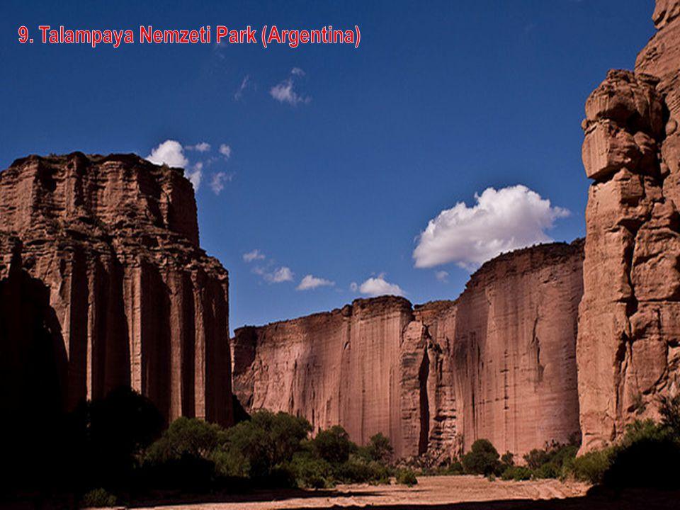 8. Mont Fitz Roy csúcs (Argentina)