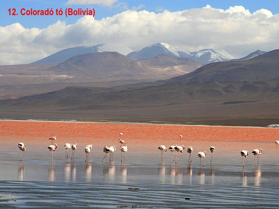 11. Noel Kempff Mercado Nemzeti park (Bolivia)