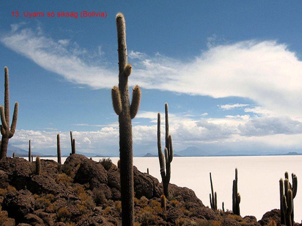 12. Coloradó tó (Bolivia)