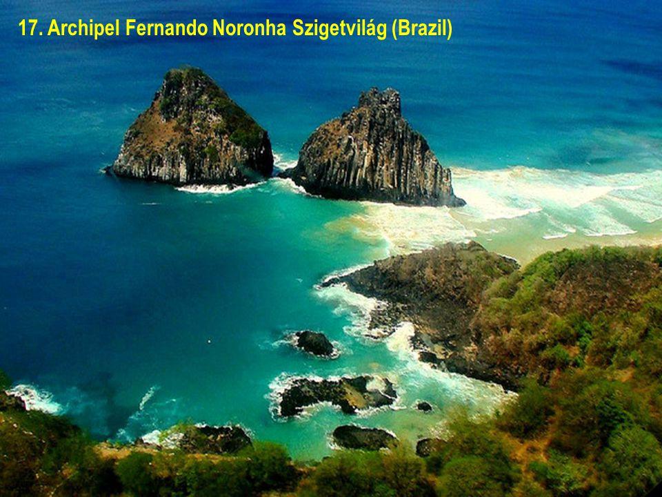17. Archipel Fernando Noronha Szigetvilág (Brazil)