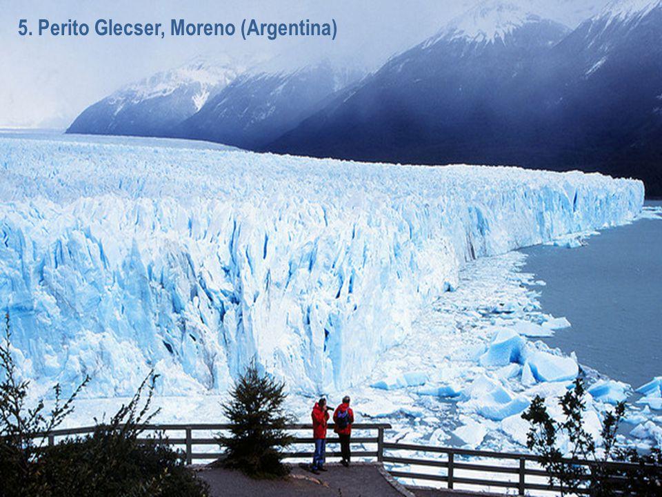 5. Perito Glecser, Moreno (Argentina)