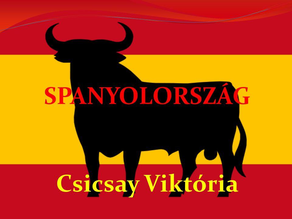 Spanyolország, hivatalosan Spanyol Királyság független állam -NÉPESSÉG:43 853 045 fő Spanyolország öt leglakottabb városa: 1.Madrid 2.Barcelona 3.Valencia 4.Sevilla 5.Bilbao -TERÜLET:A spanyol szárazföld délről és keletről a Földközi-tenger, északról a Vizcayai-öböl és nyugatról az Atlanti-óceán alkot vele határt.
