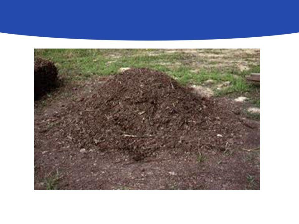 A komposztálás előkészítő lépései Felállítási hely kiválasztása: Árnyék Fellazított talaj (Tilos a betonozott, vízelvezetést akadályozó felületre helyezni) Kellően tágas ( javasolt a komposztáló területének 3-4 szerese)