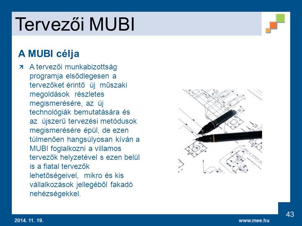 www.mee.hu Tervezői MUBI 2014.11. 19.