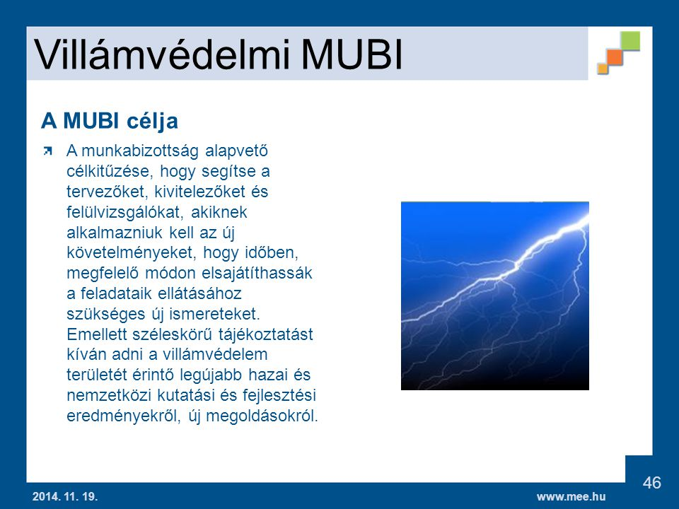 www.mee.hu Villámvédelmi MUBI 2014.11. 19.
