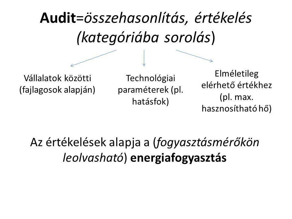 Vállalati szintű energia audit dr. Balikó Sándor energiagazdálkodási szakértő