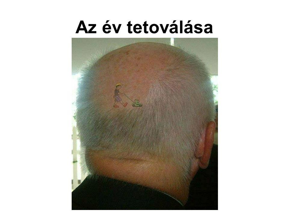 Az év tetoválása