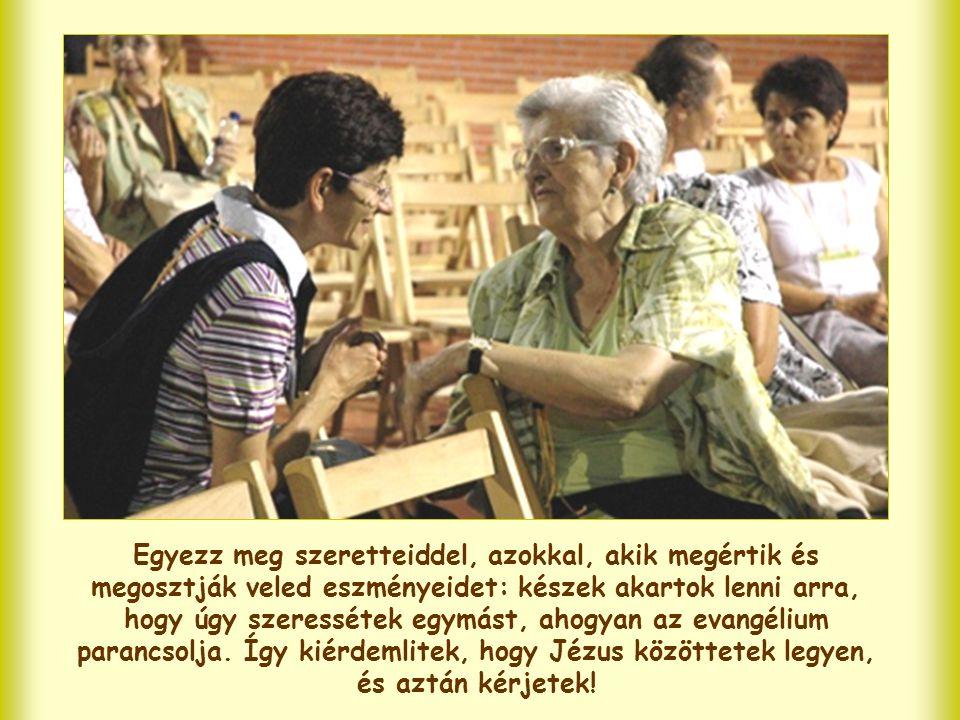 Ezentúl tehát vedd be ezt az imádságot is életed programjába! Családod, te magad, barátaid, a közösség, amelynek tagja vagy, hazád, a téged körülvevő