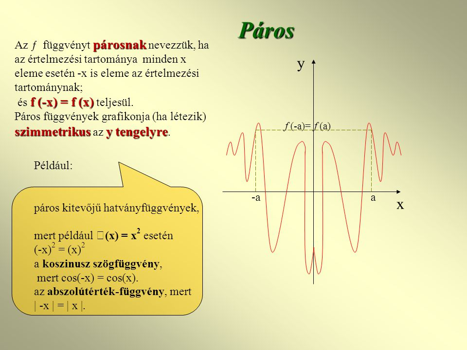 Kotangensfüggvény f(x)=ctg(x) f: R\{k  }  R, f(x) = ctgx Trigonometrikus függvények ÉT: x  R\ { k  } ÉK: f(x)  R Periodikus, periodusa:  Szig.