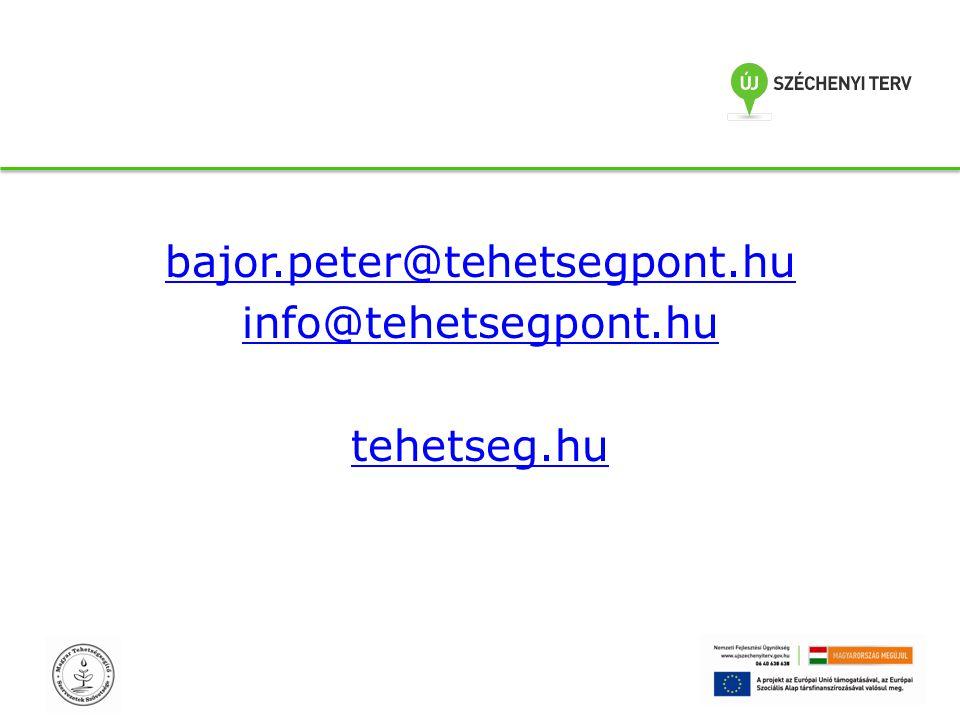 bajor.peter@tehetsegpont.hu info@tehetsegpont.hu tehetseg.hu