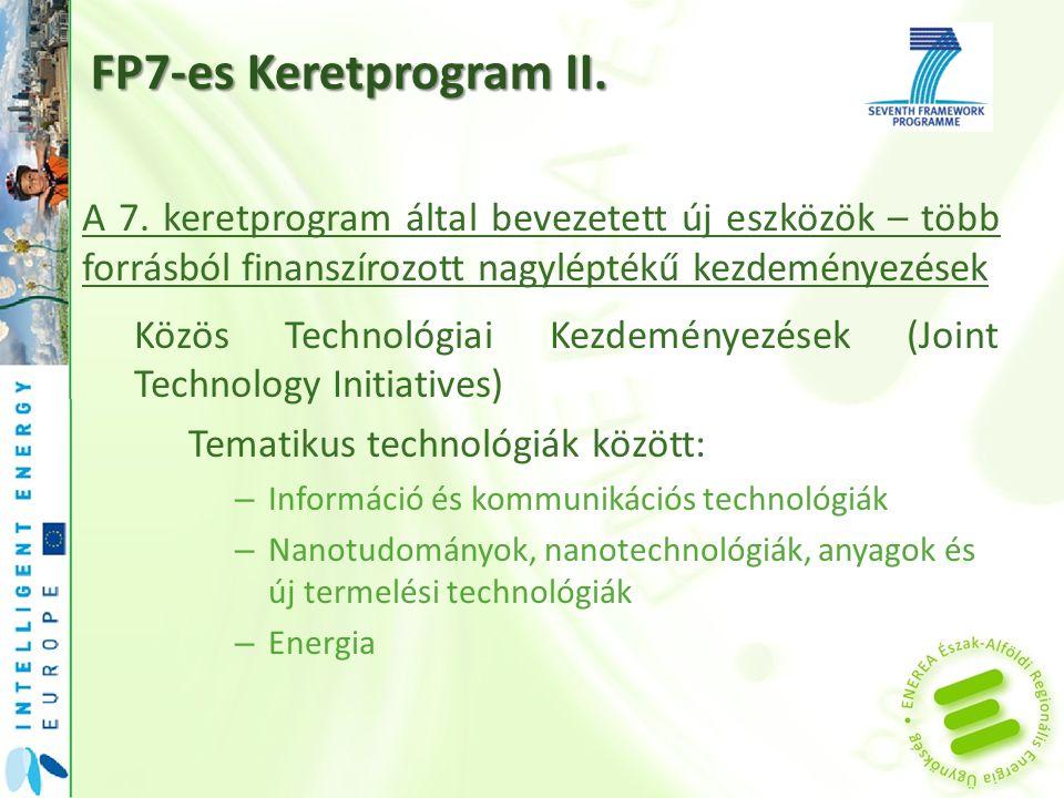 FP7-es Keretprogram II. A 7.