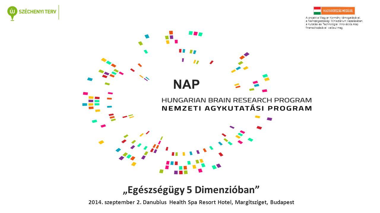 NAP A projekt a Magyar Kormány támogatásával, a Nemzetgazdasági Minisztérium kezelésében, a Kutatási és Technológiai Innovációs Alap finanszírozásával