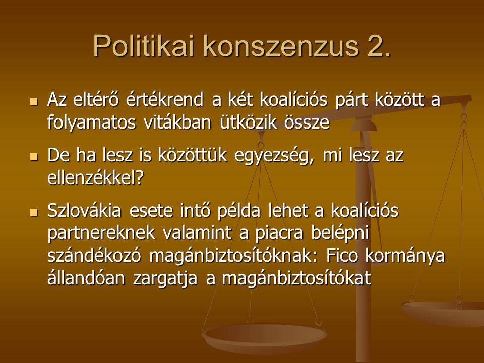 Politikai konszenzus 2.