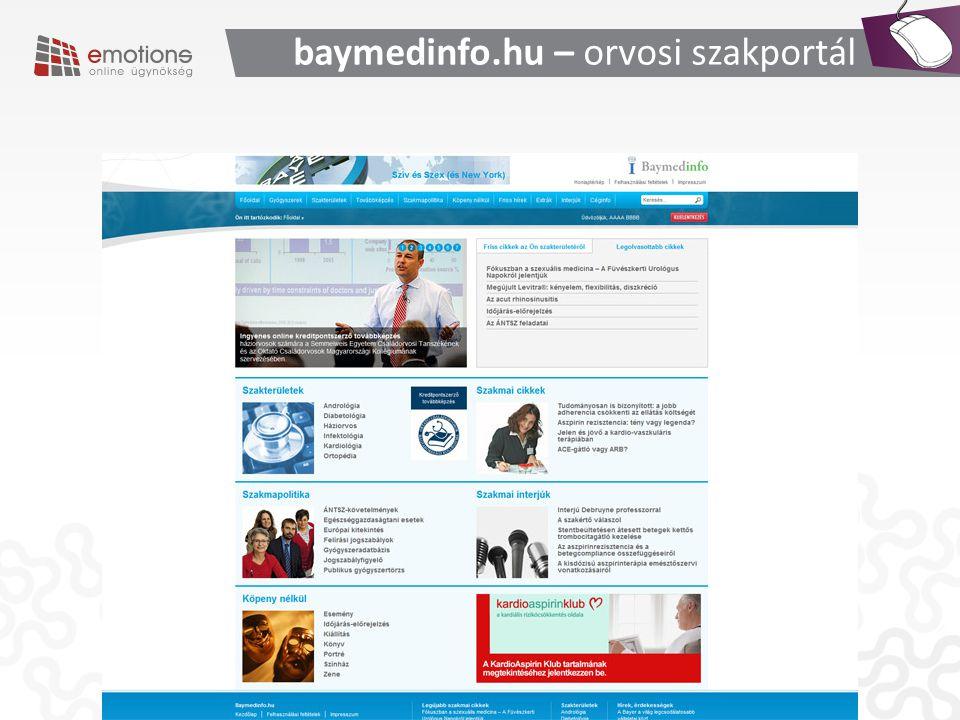baymedinfo.hu – orvosi szakportál