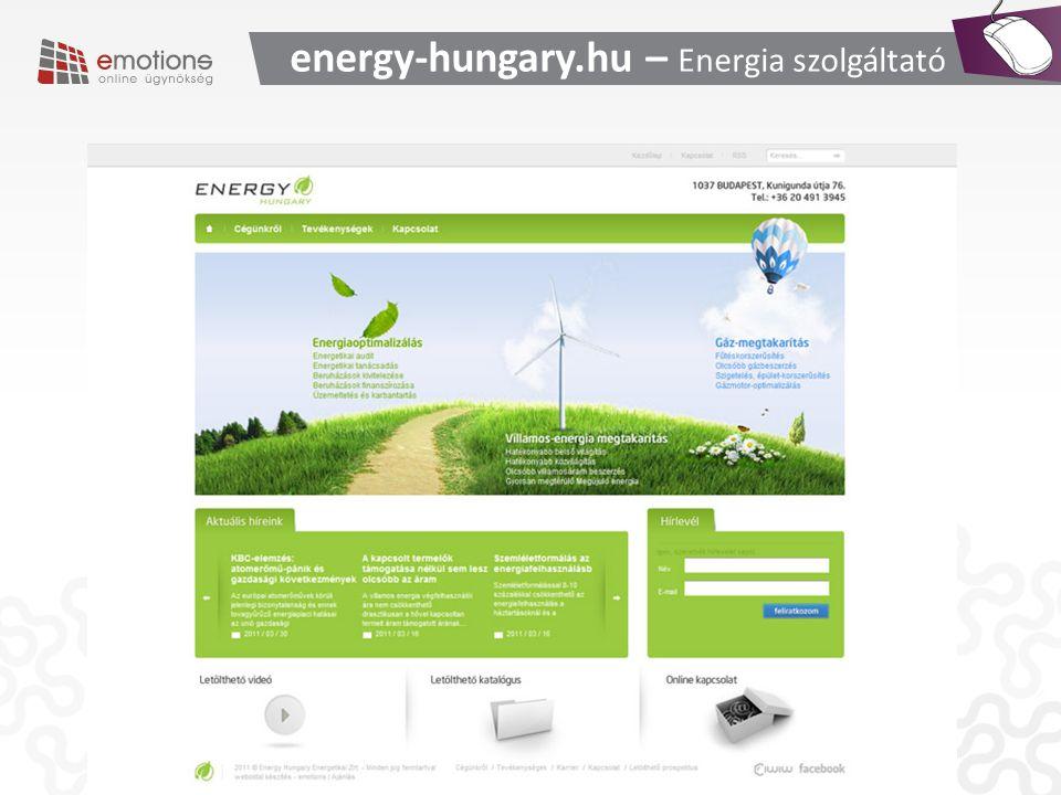 energy-hungary.hu – Energia szolgáltató