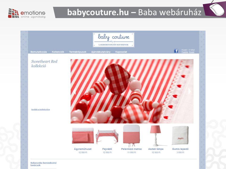 babycouture.hu – Baba webáruház
