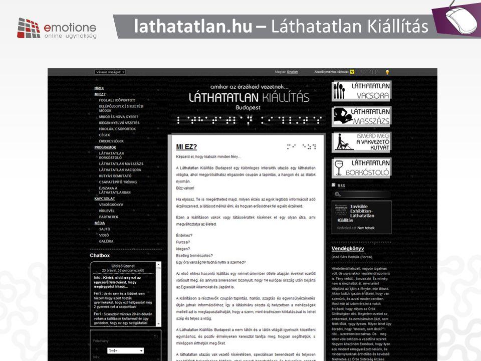lathatatlan.hu – Láthatatlan Kiállítás