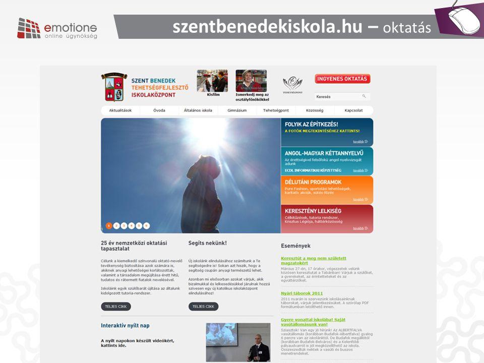 szentbenedekiskola.hu – oktatás