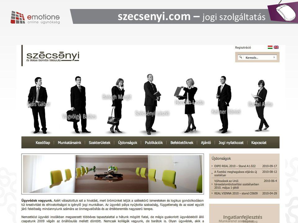 szecsenyi.com – jogi szolgáltatás