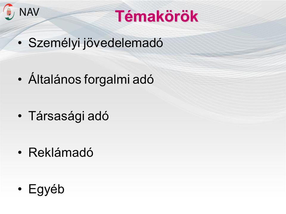Számlázó programok Határidők  2014.október 1.