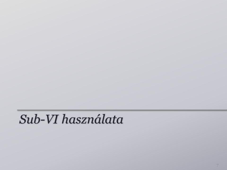 Sub-VI használata 7
